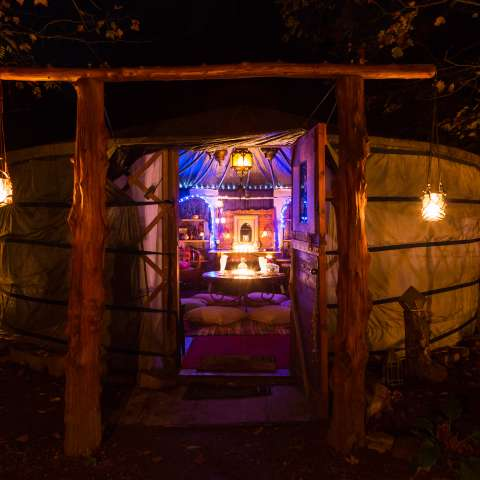 The Yurt at Viking Longhall