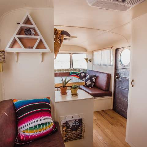Vintage Trailer with SW Decor