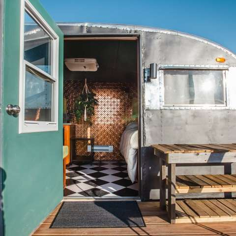 Luxurious Vintage Trailer