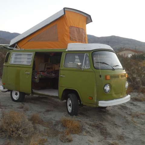 Hot Spring Vintage VW Camp