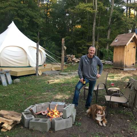 Glamping on the Family Farm