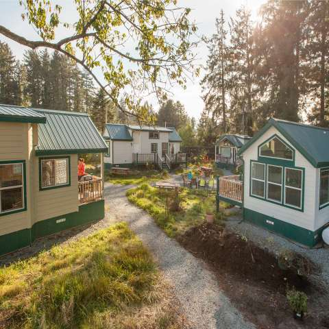 Tiny Homes at Sheltered Nook