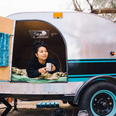 "TearDrop Trailer ""Glamping"""