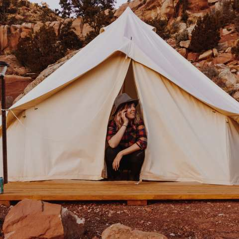 Zion Glamping Adventures -Tent1