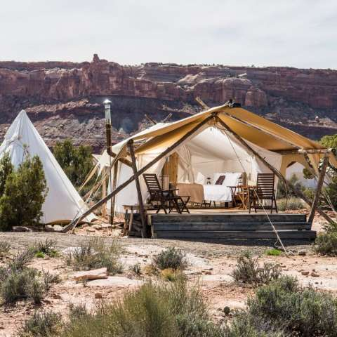 Moab Deluxe with Adjacent Tipi