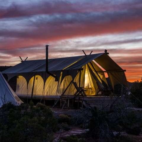 Moab Suite with Adjacent Tipi