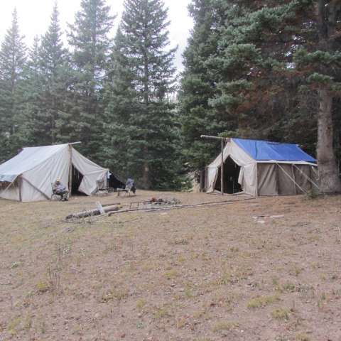 Outfitted Mountain Camps