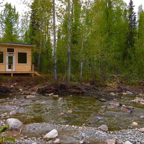 Riverside Salmon Cabin