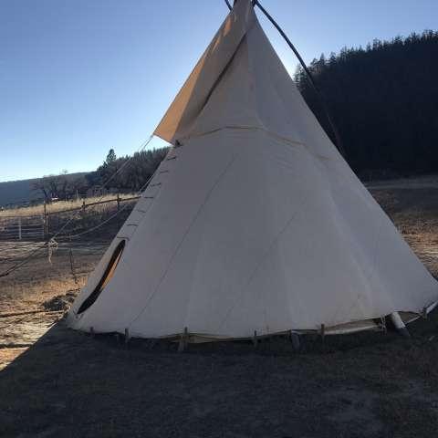 Thunderbird Ranch Tipi Camping