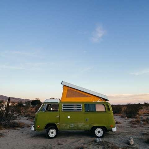 Hot Spring Vintage VW Camp