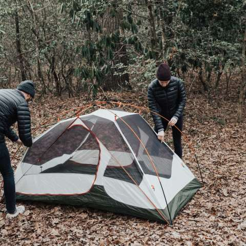 Camping At Monolithic Dome