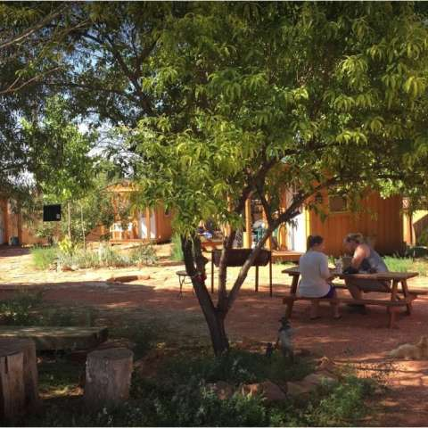 Western Cowboy Bunk House Camp