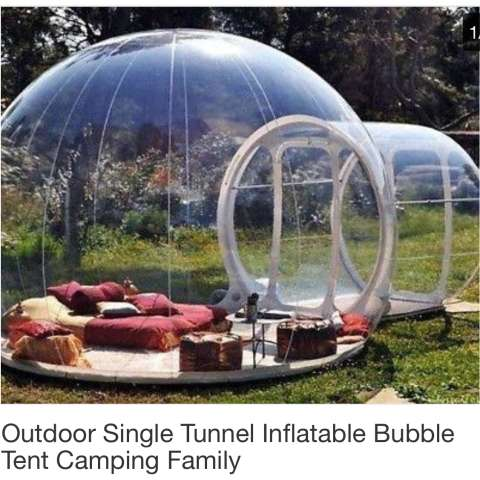 Bubble Tent Experence