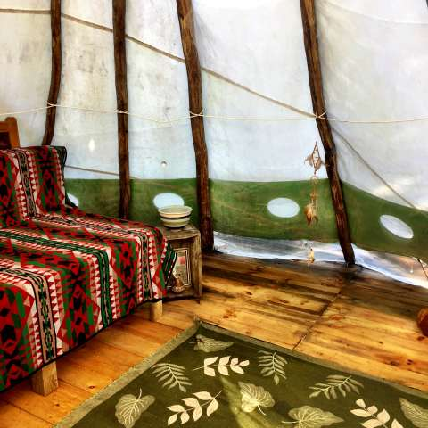 Central Vermont Tepee