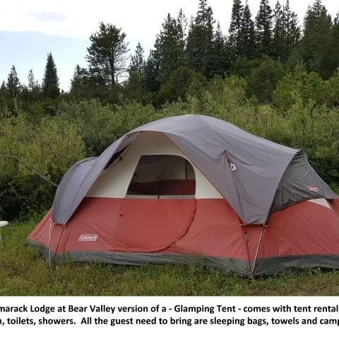Rent A Tent - Tamarack, Pop. 9