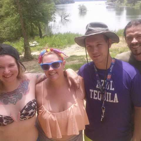 Lakefront camping in smokies