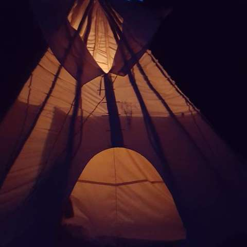 Traditional Tipi on 11 Acres