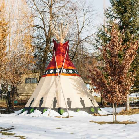 Painted Sacred Tipi