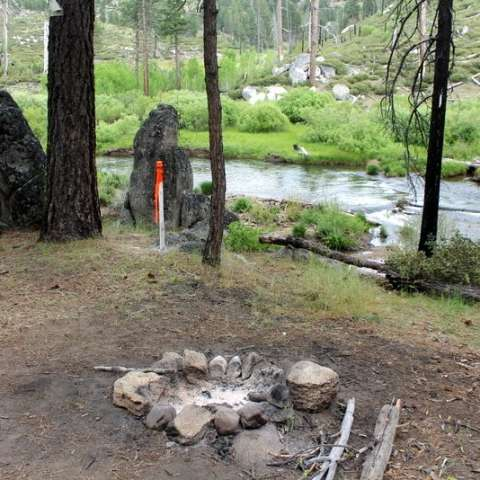 The best camping near Eagle Lake, California. Pan 4 Gold! Golden Grizzly  Camp