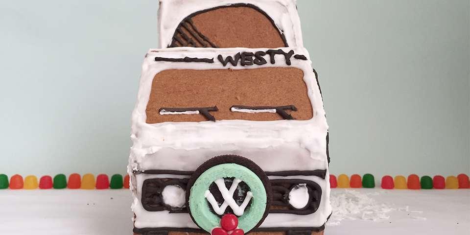 Home Sweet Roam: DIY Gingerbread Van