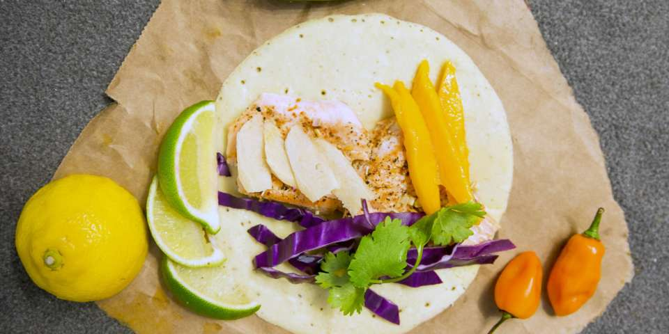 Campfire Fuel: Citrus Smoked Trout with Coconut Paleo Tortillas