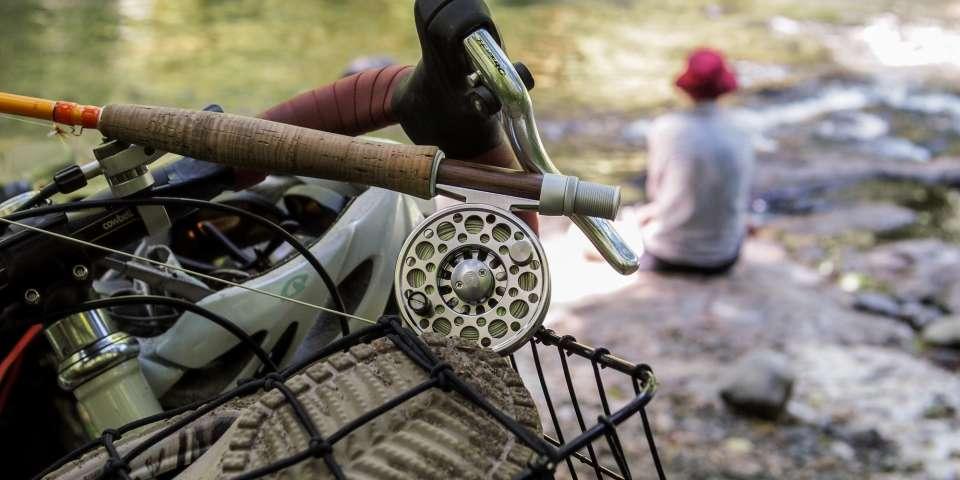 Fly Fishing by Bike
