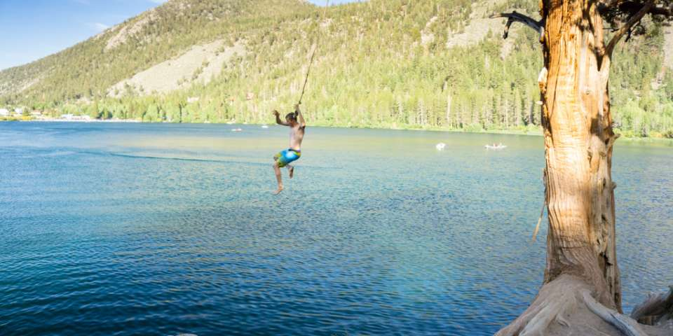 Best Swimming Holes, Rope Swings and Waterfalls in Northern California