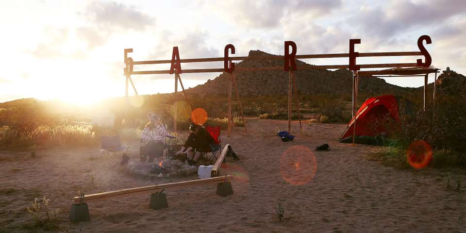 5 Acres of Camping, Creativity, and Community in the Mojave Desert