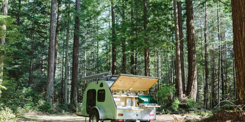 A Private Camping Oasis in the Redwoods