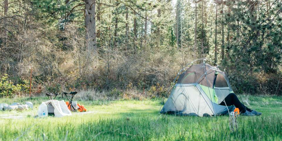 Swim the Scott River and Hike the PCT at Riverfront Orchard Camp