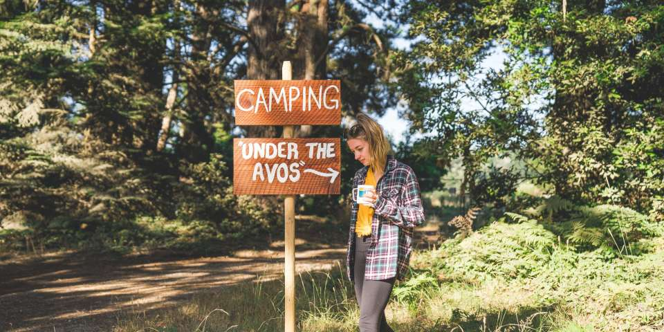 Essential Property Signs for Hosting Campers