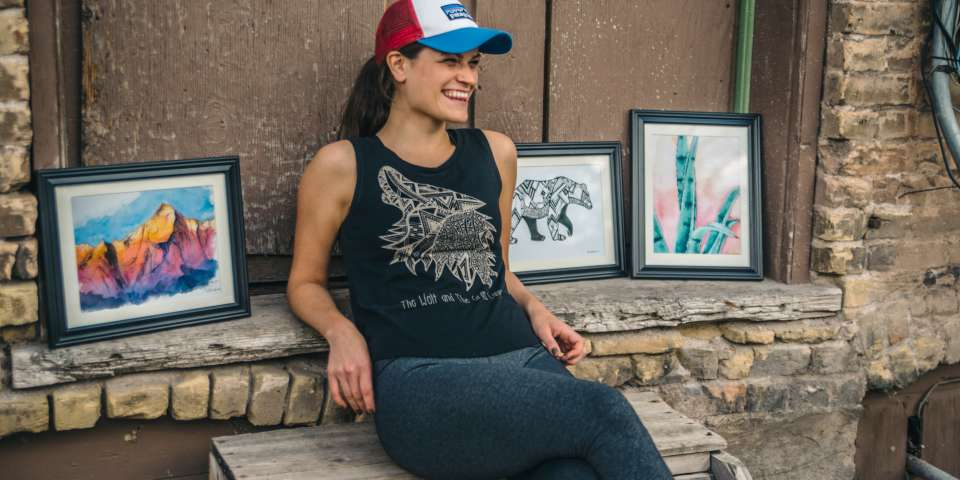 Checking in with Artist Lisa Marie