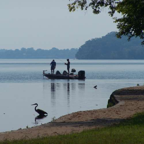 Best camping near old hickory lake tennessee with for Old hickory lake fishing
