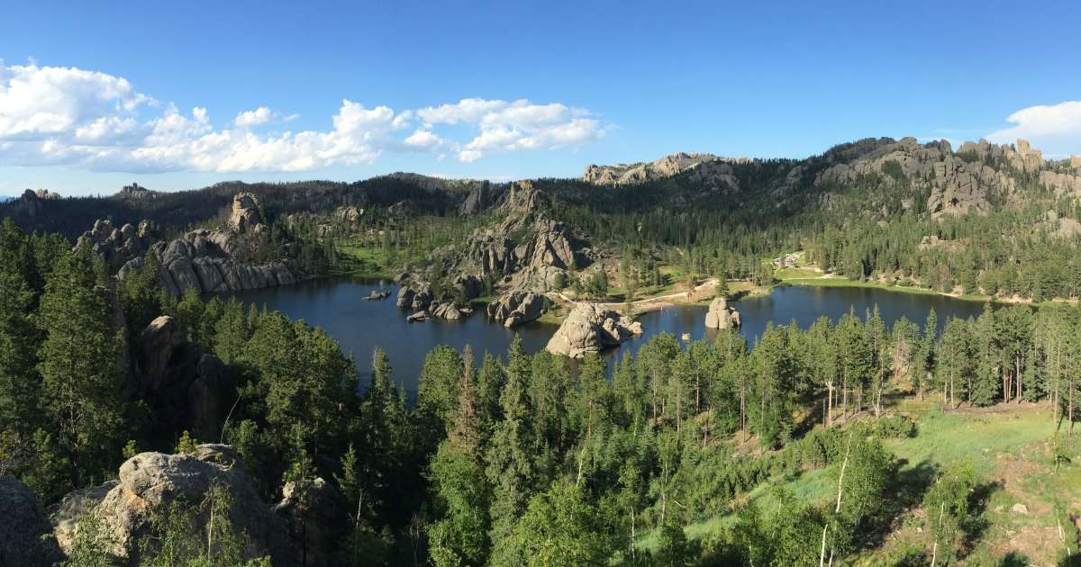 Sylvan lake campground custer sd 3 hipcamper reviews for Cabins near custer sd