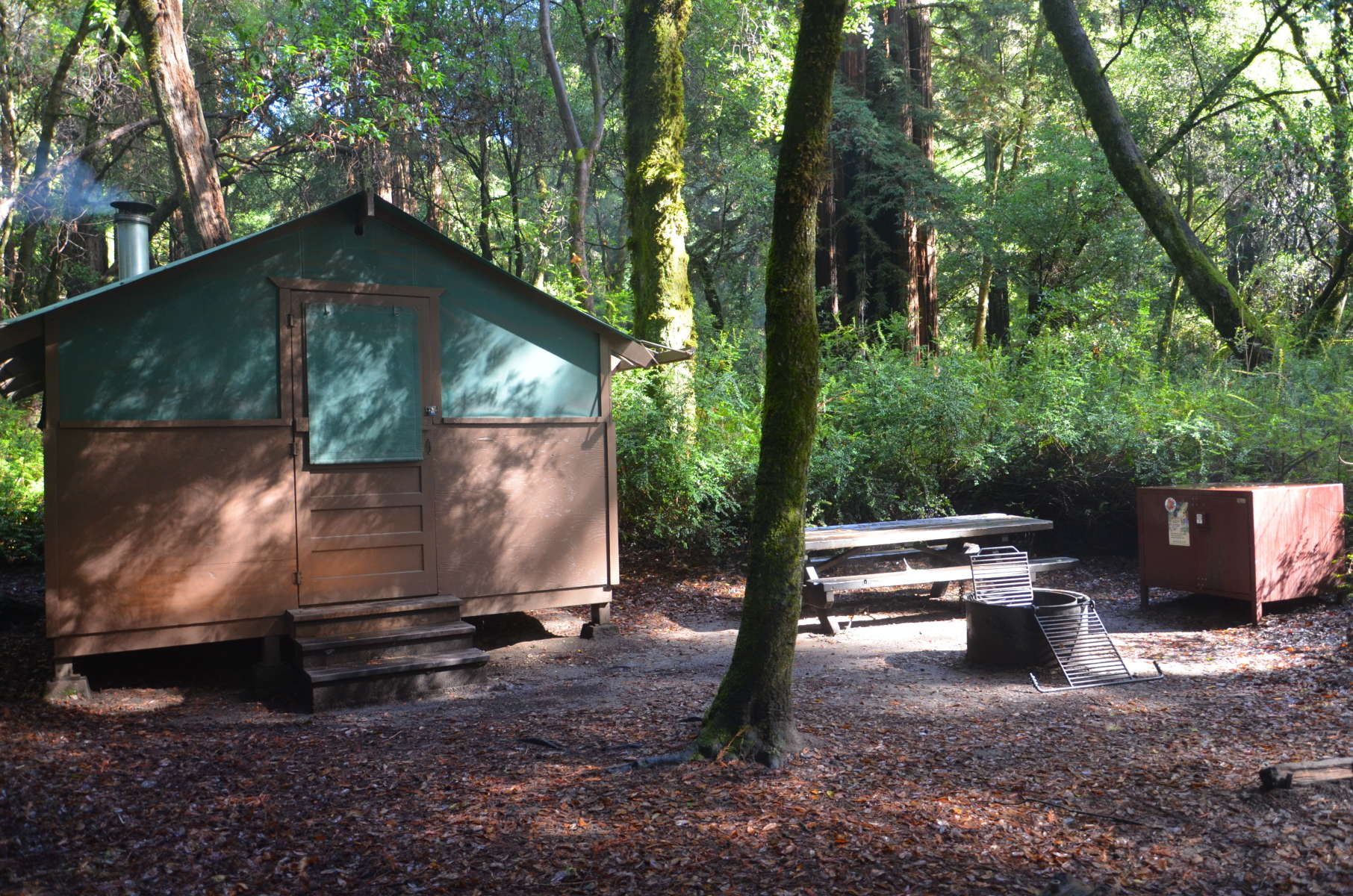 Big Basin Tent Cabins Big Basin Redwoods CA 6 Hipcamper reviews