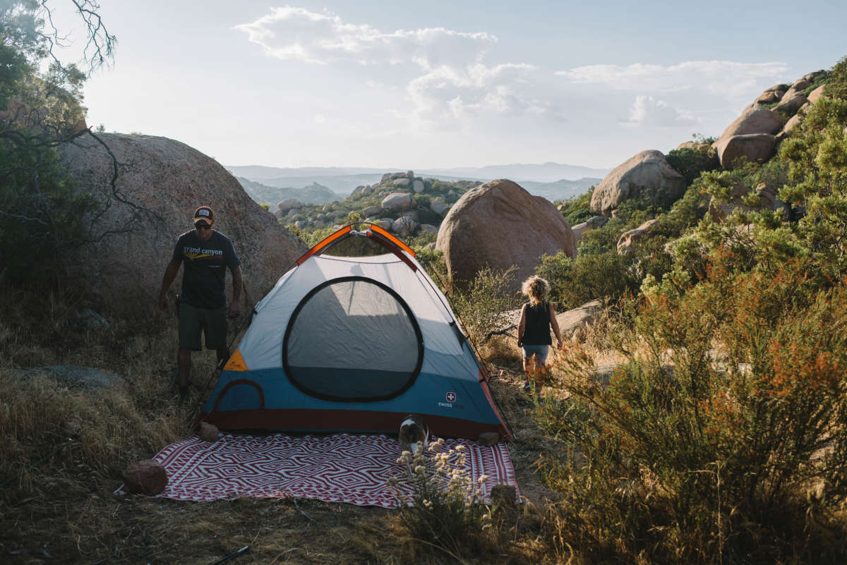 The Tent Commandments' Top 5 Tips for Choosing a Campsite