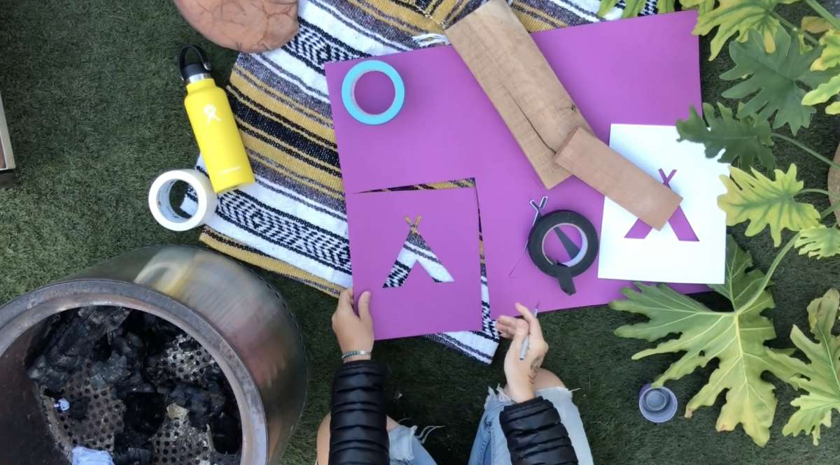 How to make DIY camp signs for under $20