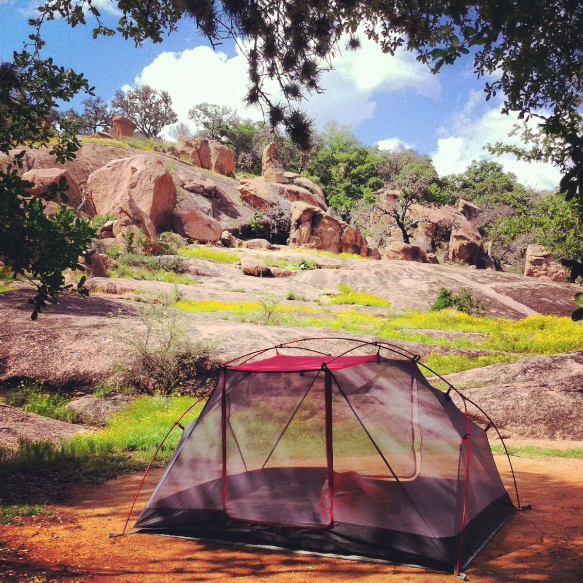 Enchanted Rock State Natural Area Camping