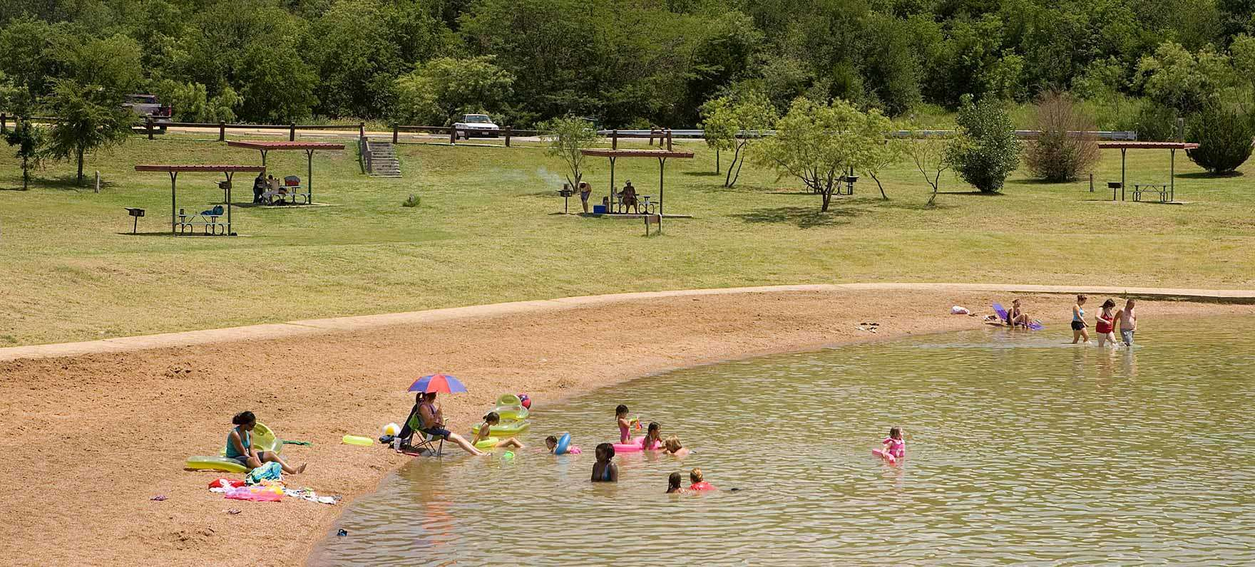 Best camping in and near cedar hill state park for Texas parks and wildlife fishing report