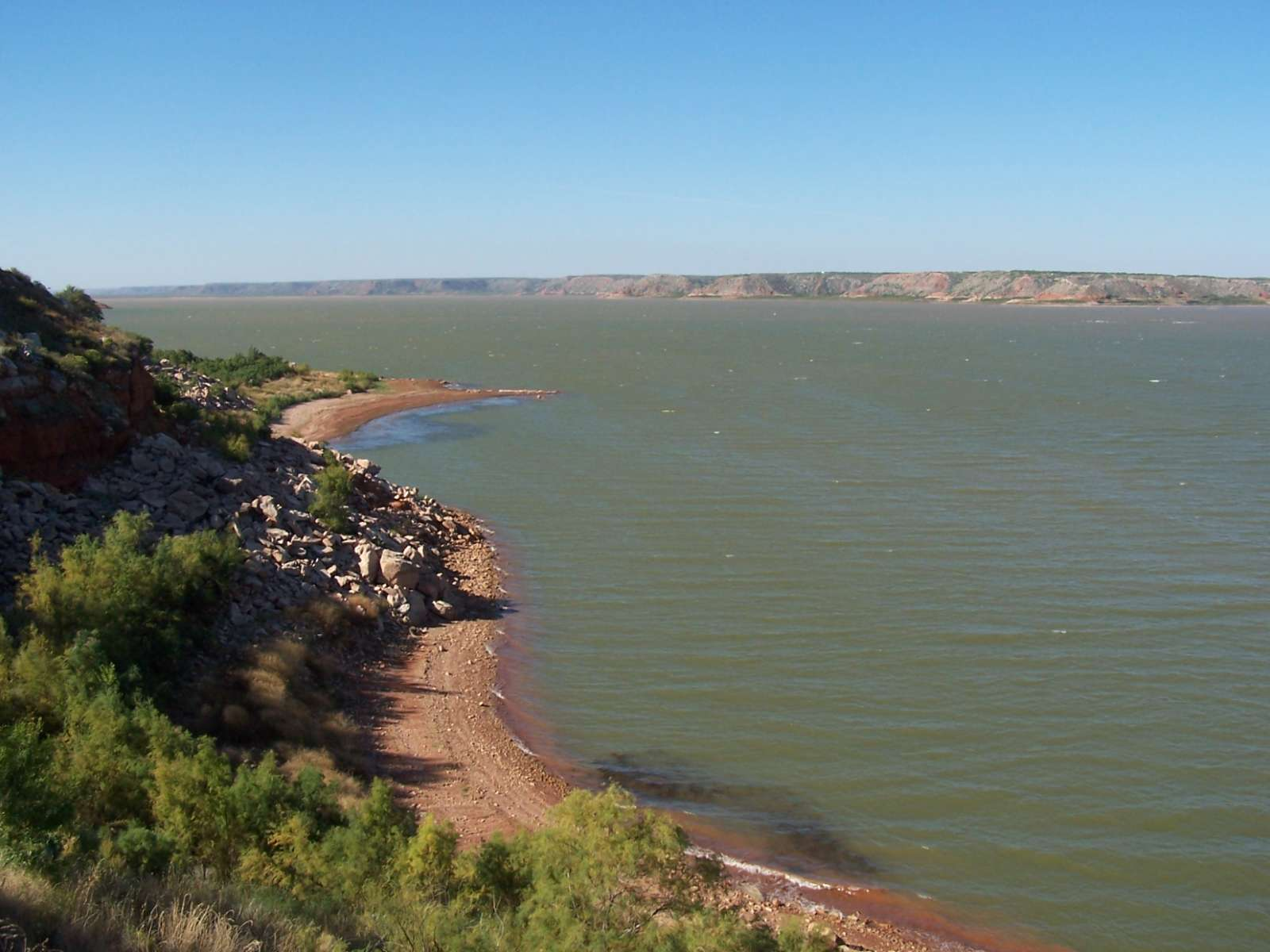 Lake meredith national recreation area camping for Lake meredith fishing report
