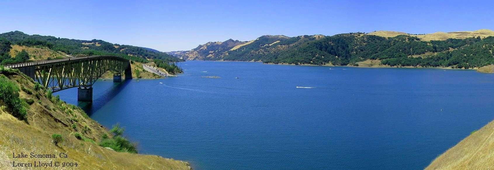 Lake sonoma camping for Lake sonoma fishing report