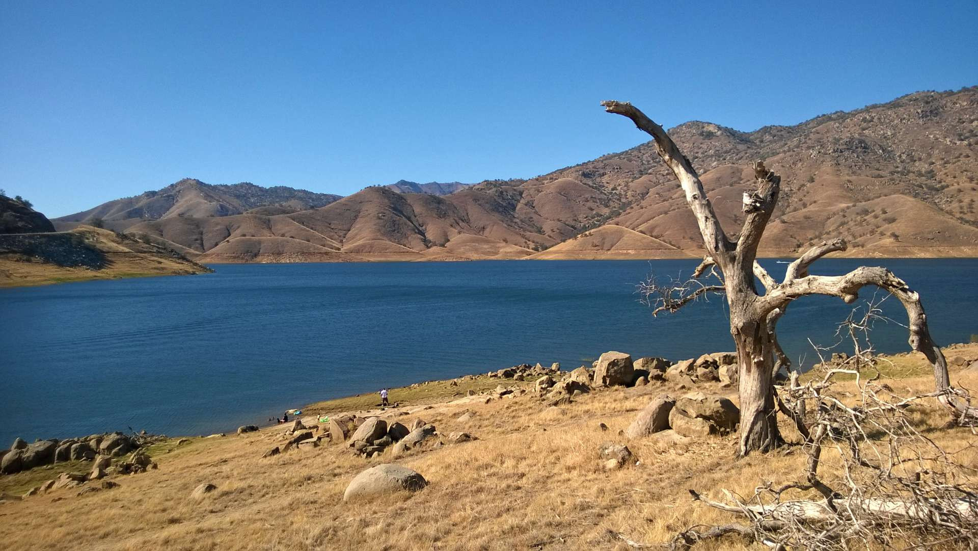 Horse creek campground kaweah lake ca 2 hipcamper for Lake kaweah fishing