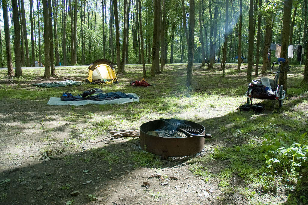 Portage lakes nimisila campground portage lakes oh 1 for Portage lakes fishing