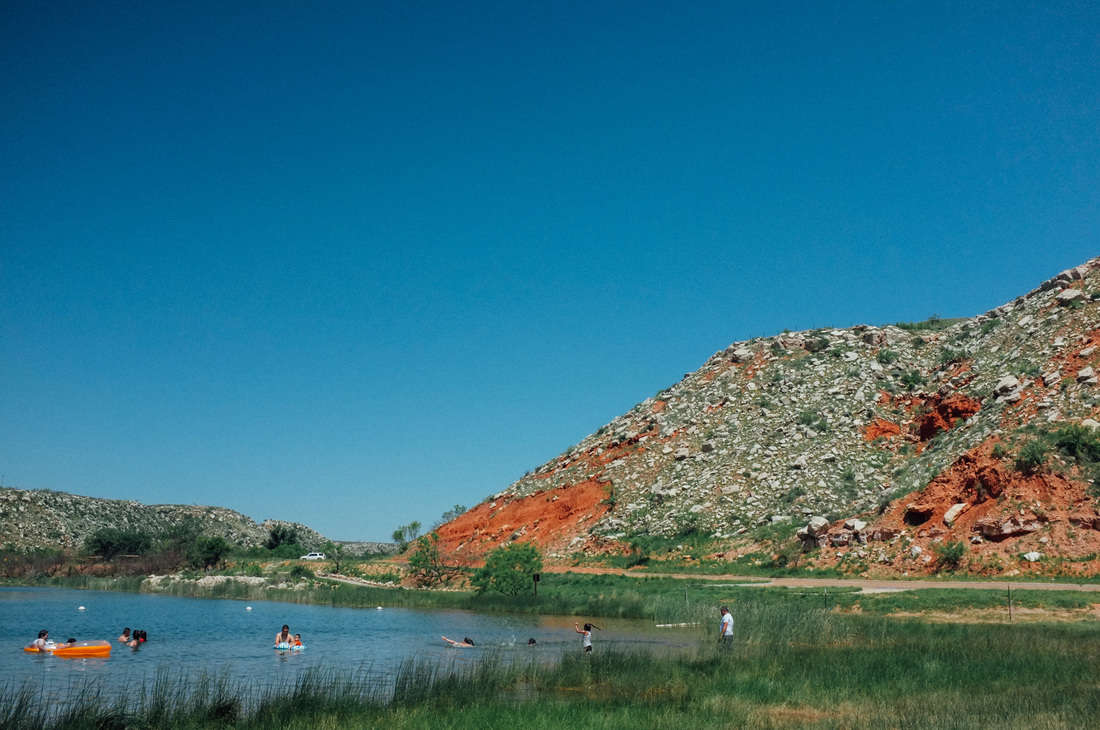 Lake Meredith National Recreation Area Camping