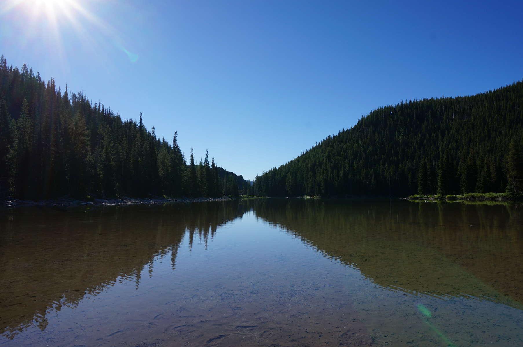 Devils lake campground deschutes or 2 hipcamper reviews for Devils lake oregon fishing