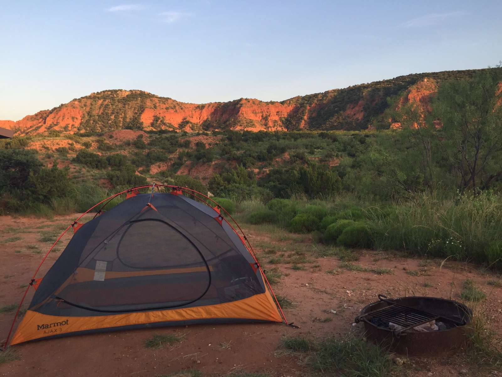 Little Red Tent Campground, Caprock Canyons, TX: 3 ...