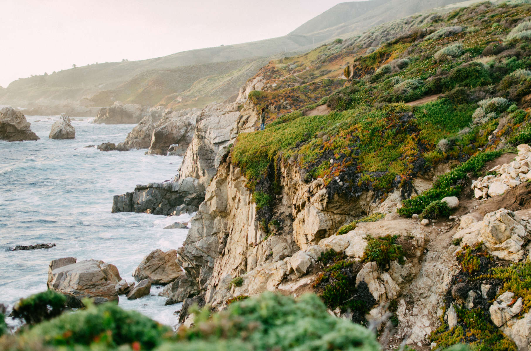 Best camping in and near pfeiffer big sur state park for Big sur fishing