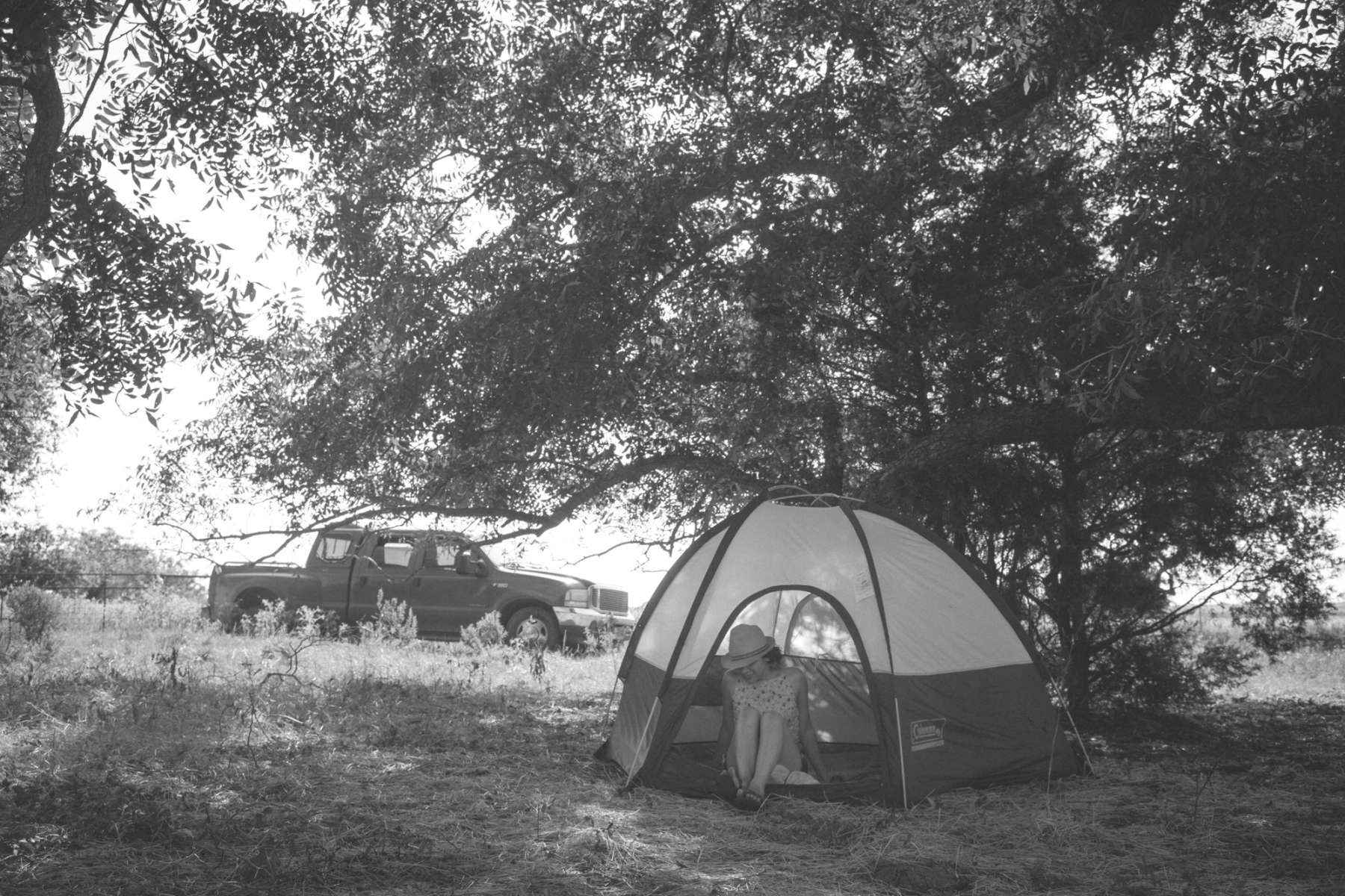 Primitive Camping, Sand Creek Farm, TX: 3 Hipcamper ...