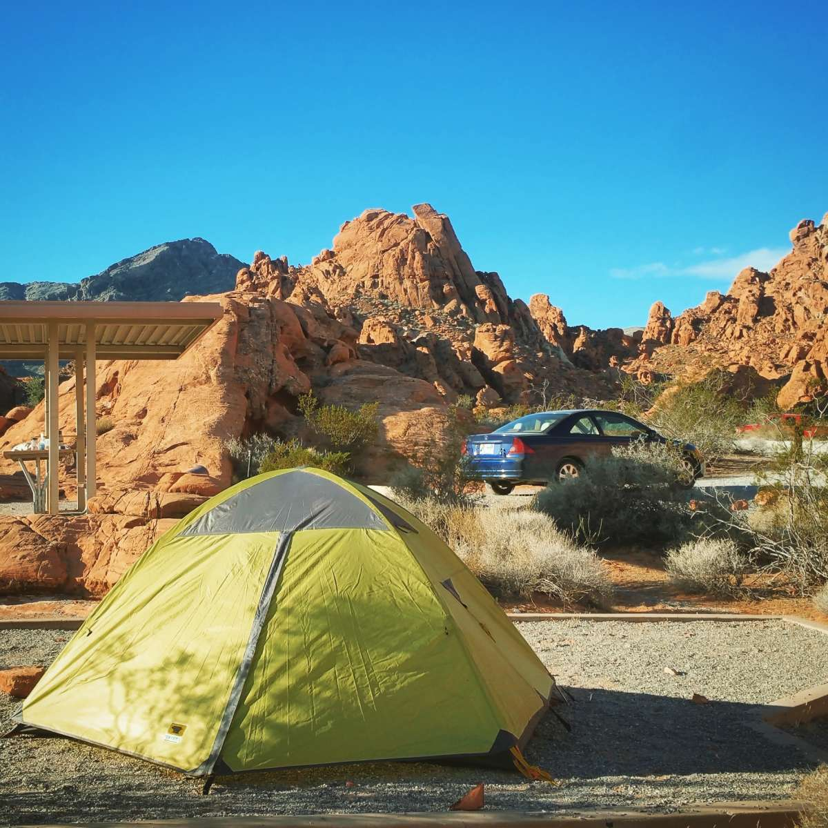 Arch Rock Campground, Valley of Fire, NV: 6 Hipcamper