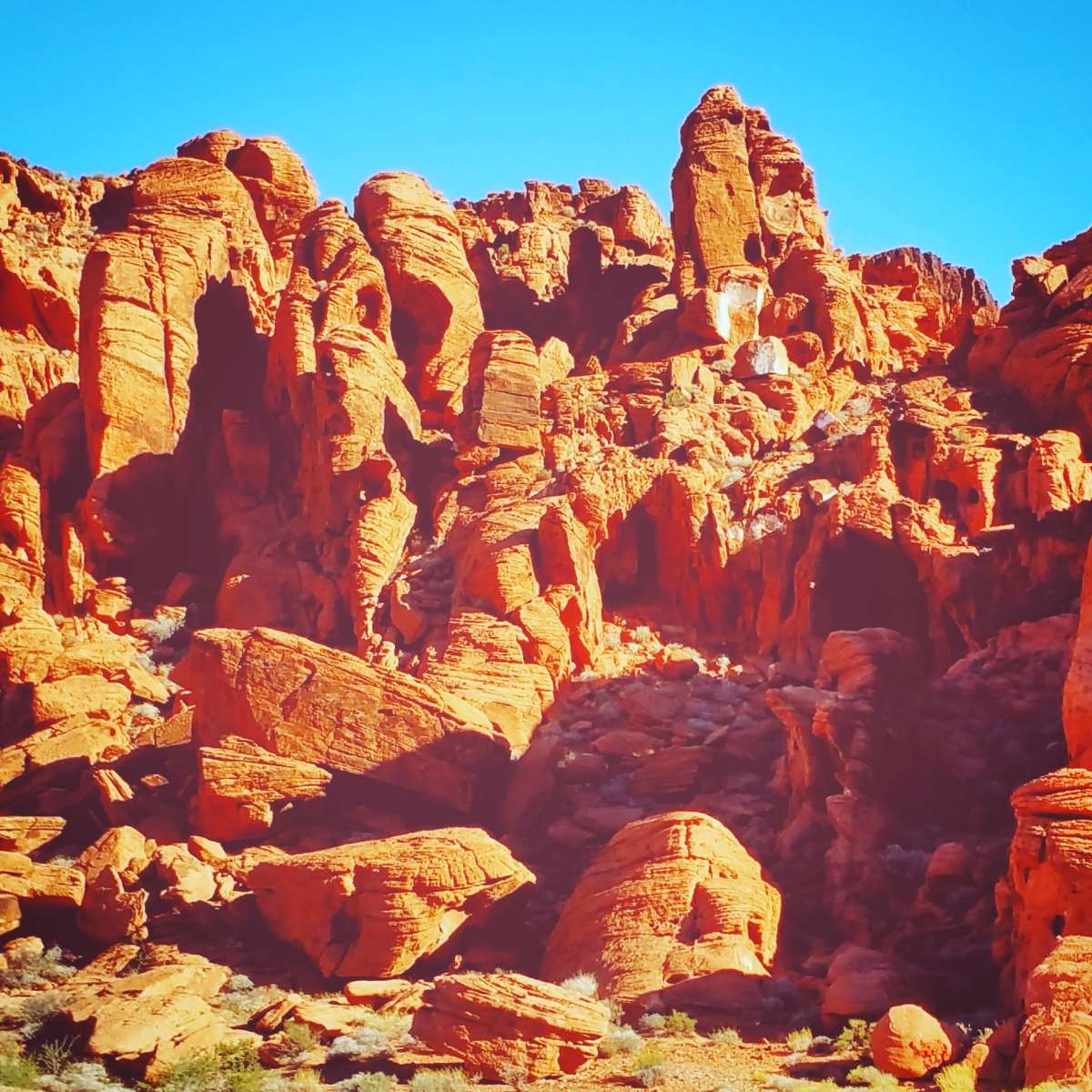 Peak Season at Arch Rock Campground | Valley of Fire
